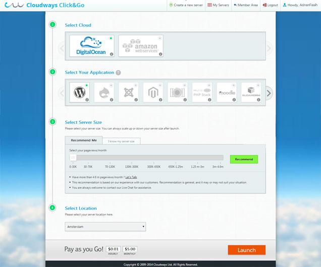 Cloudways-Click-n-Go
