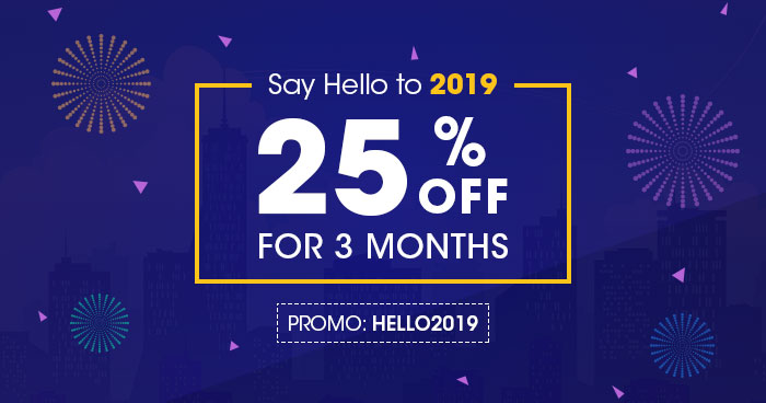 Cloudways New Year 2019 Offer