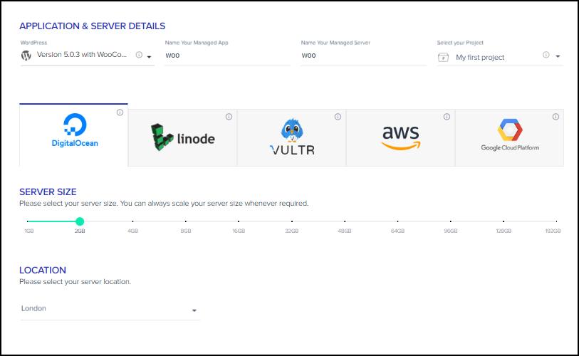 Cloudways Platform - Screengrab