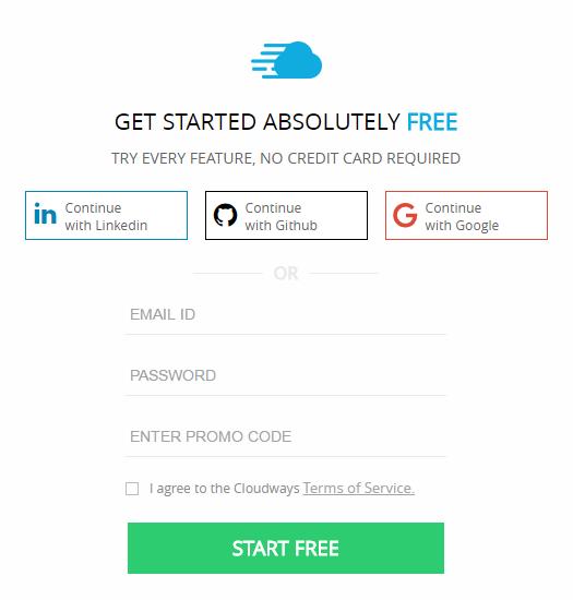Cloudways-Sign-up