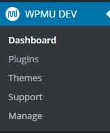 WPMU Dev Dashboard
