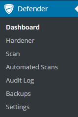 WPMU Dev Defender Dashboard
