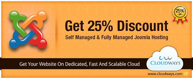 Discount on Joomla Hosting