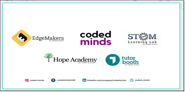 Coded Minds best startup