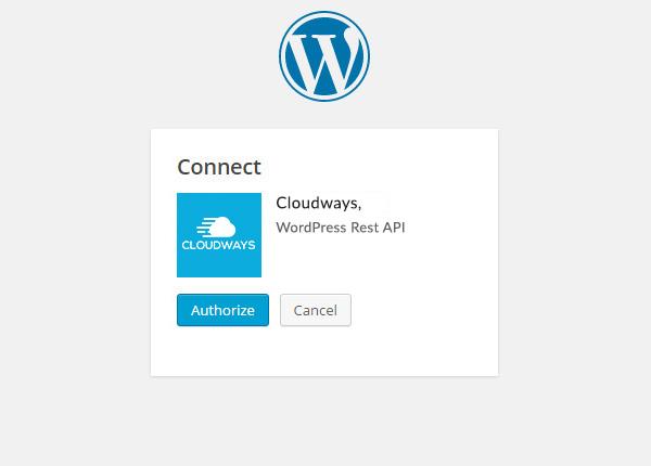 connect WP REST API