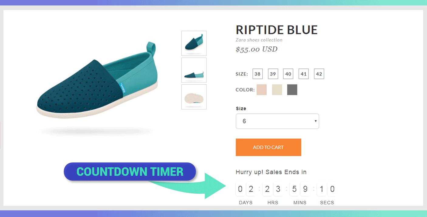 Countdown Cart