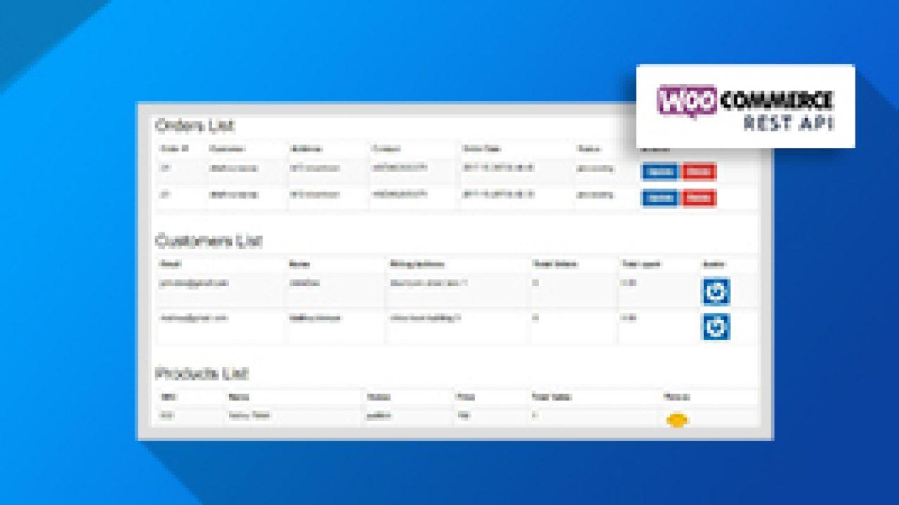 How to Use WooCommerce Rest API to Create a Custom Dashboard