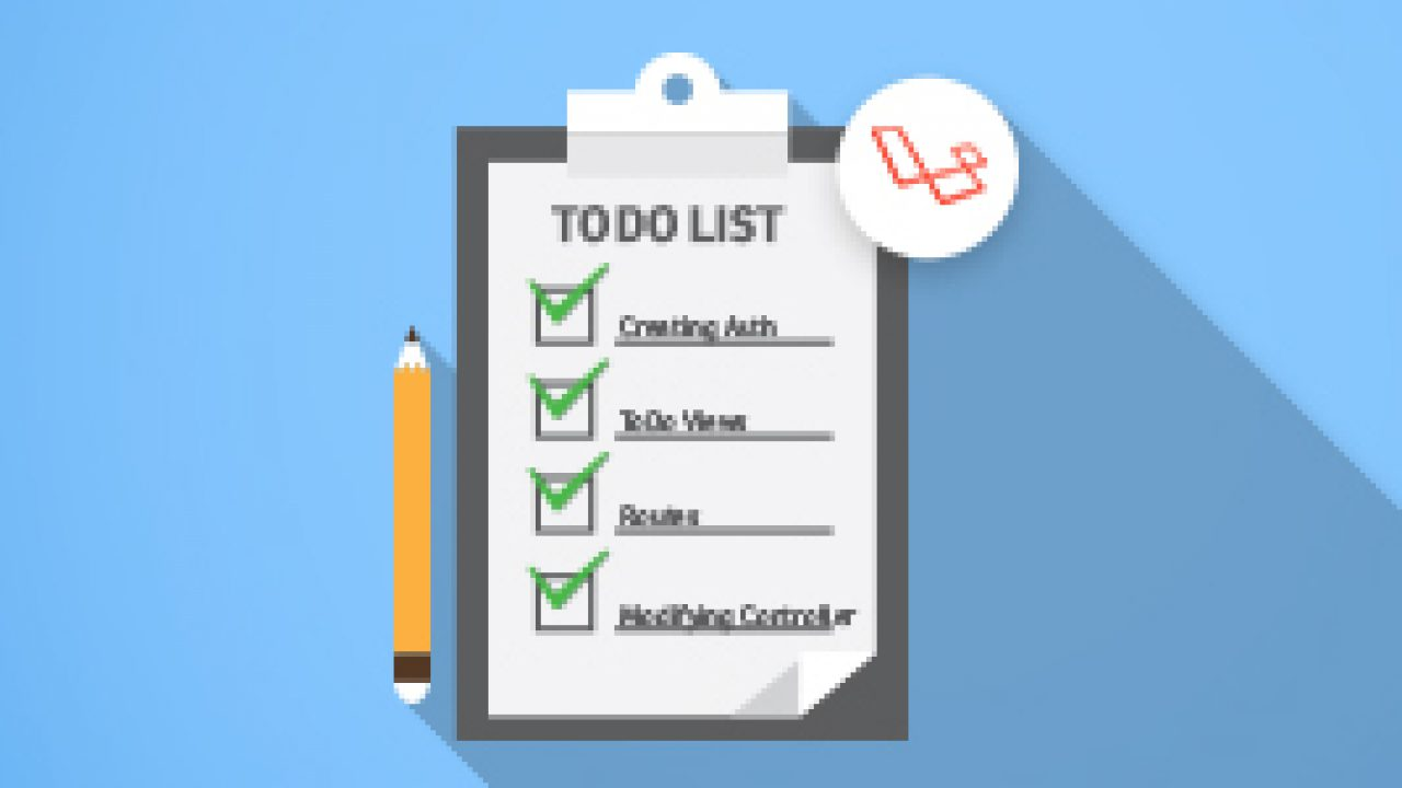 Laravel 5 4 ToDo App: Setting Authentication and ToDo Functionality
