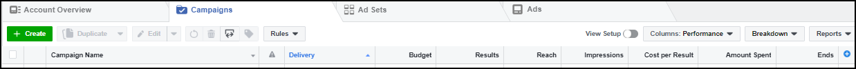 Creating Your First Facebook Ad