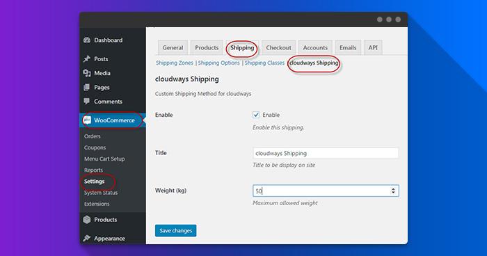 WooCommerce Custom Shipping Method