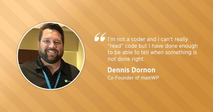 Dennis Dornon Interview