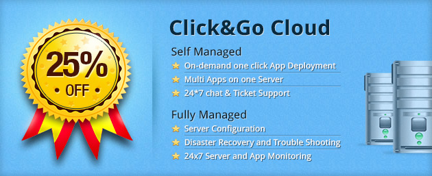 25% Discount Offer on Click&Go Cloud