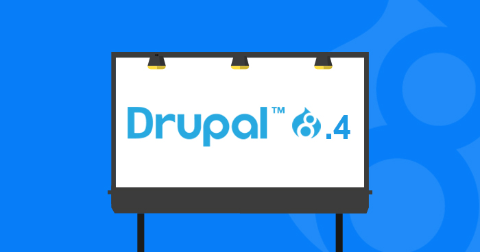 first look drupal 8.4