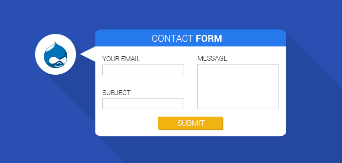create contact form drupal 7