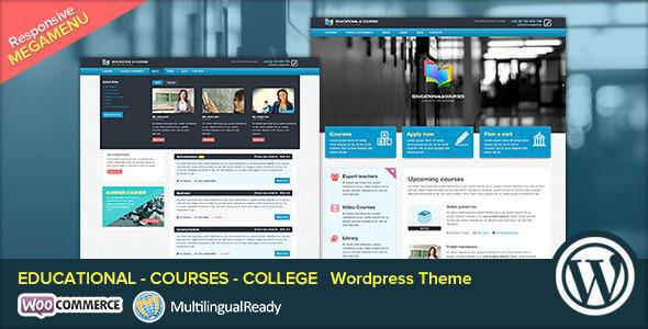 EDU Educational Courses College WP Theme