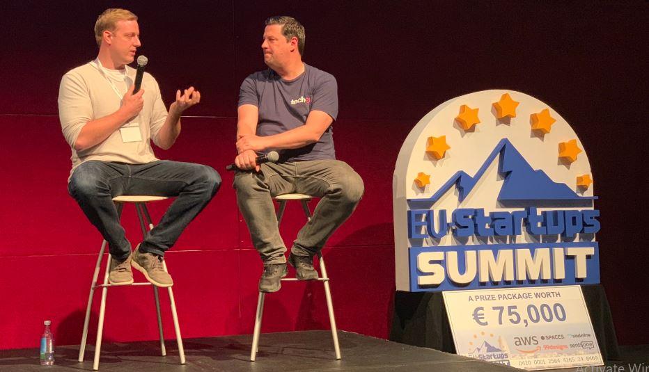 EU Startups Summit Fire Chat