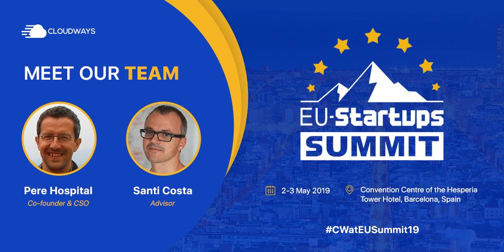 EU Startups Summit Meet Us
