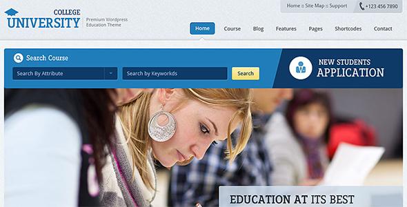 Education Academy The Education WordPress Theme