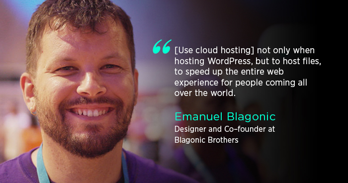 Emanuel Blagonic Interview With Cloudways Banner