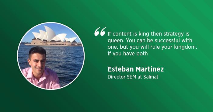 Esteban Martinez Interview