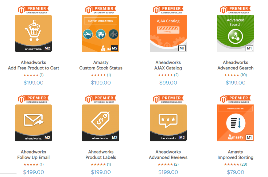 Extensions magento pricing