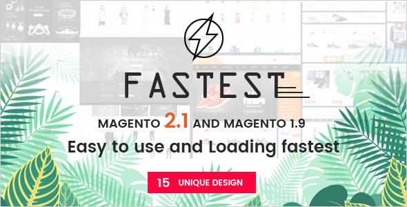 Fastest Magento Responsive Theme