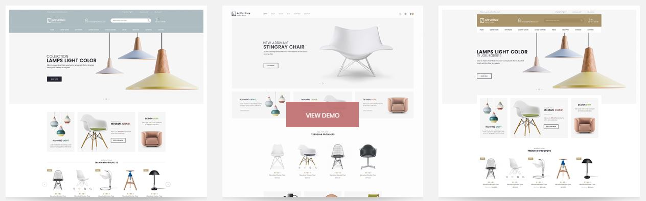 Art Furniture - Responsive Magento 2 Theme