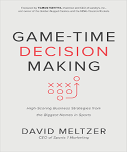Game-Time Decision Making Business Book