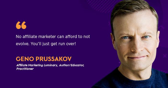 Geno Prussakov- Affiliate Marketer