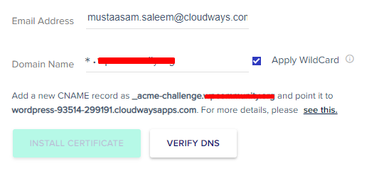 Get Free Wildcard SSL Certificate 2