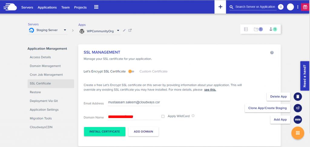 Get free SSL Certificate for WordPress