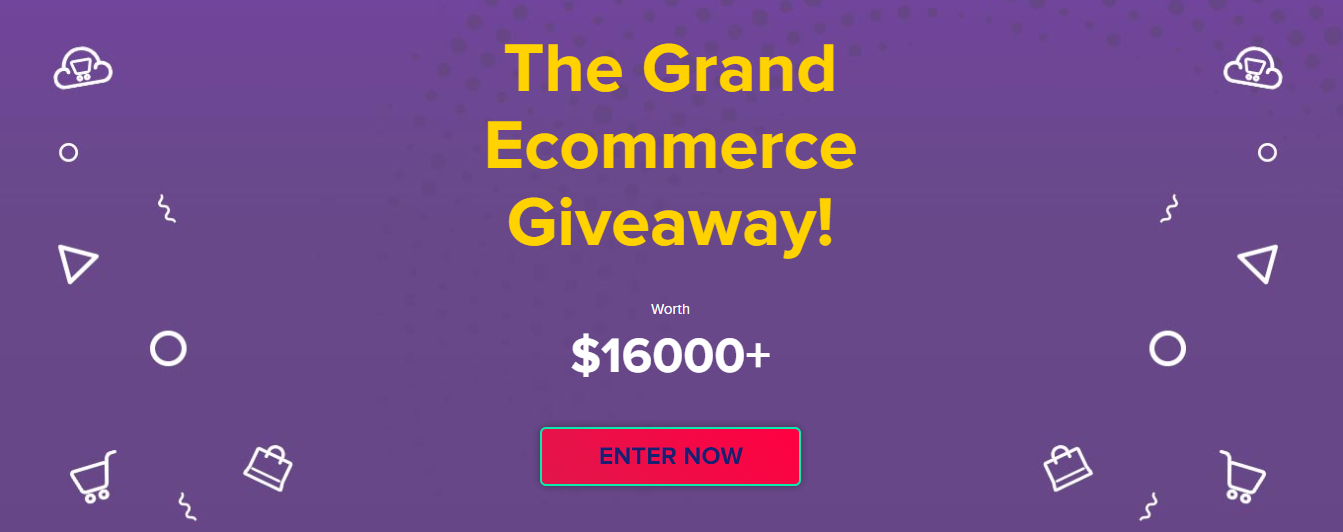 Grand Ecommerce Giveaway hosted by Cloudways in 2017