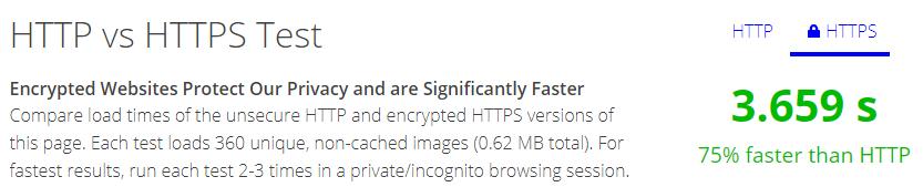 HTTPS Speed Test