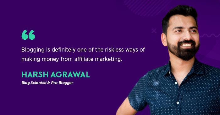 Harsh Agrawal (Blog Scientist & Pro Blogger)