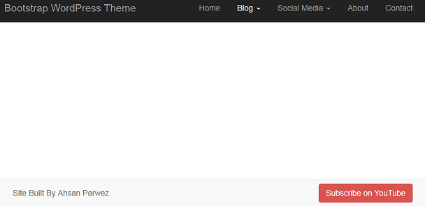 Homepage view