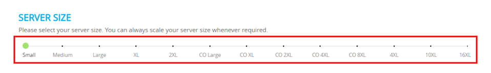 Host WordPress on AWS Server Size