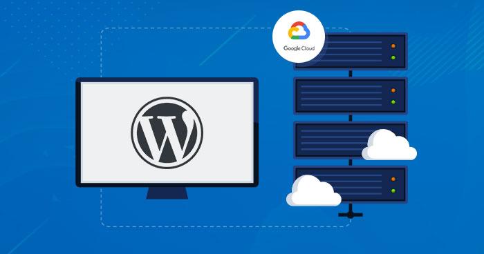 google cloud wordpress