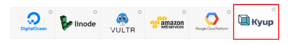 Host WordPress on Kyup Cloud Provider