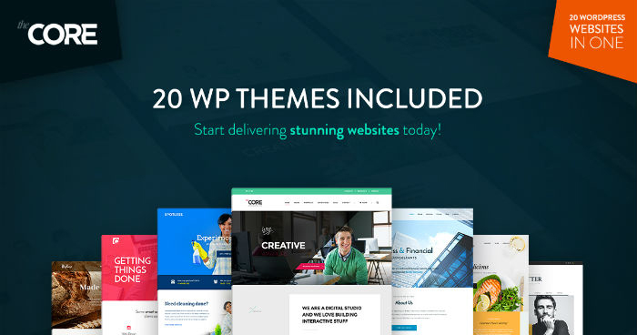 The Core Multipurpose WordPress Themes For Agencies