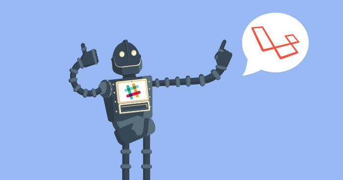 how to build laravel powered slack bot