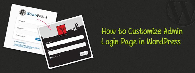 Customize Admin Login Page in WordPress