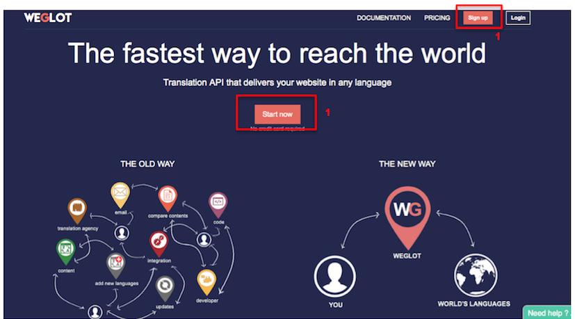 Weblot API key