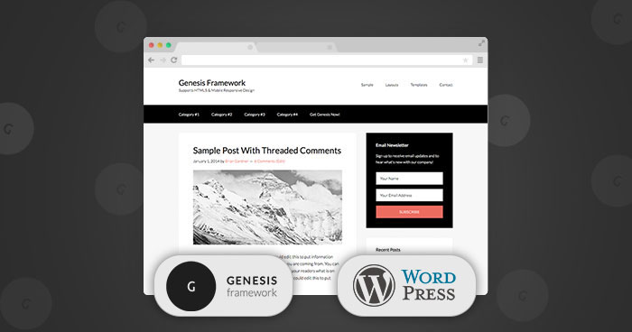 Install Genesis Framework