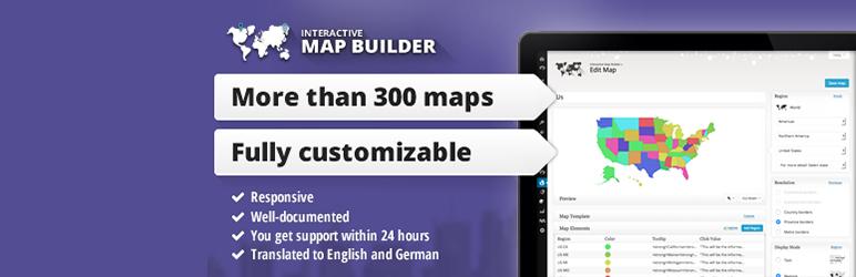 Interactive Map Builder for WordPress Plugin