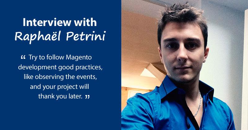 Raphaël Petrini interview