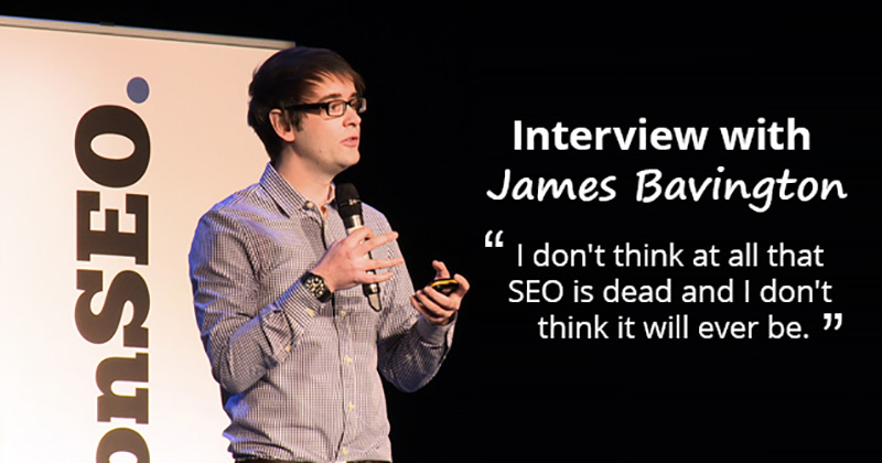 James Bavington Interview