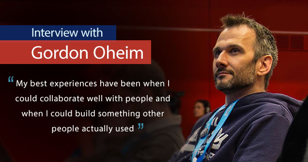 Gordon Oheim interview