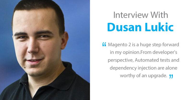 Dusan Lukic interview