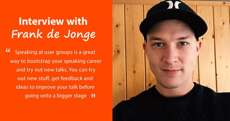 Frank de Jonge interview