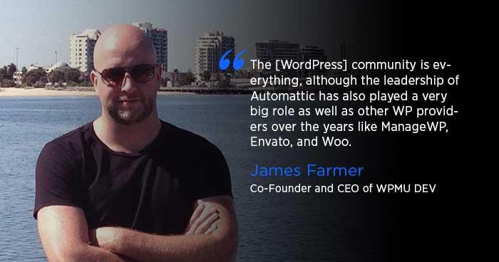 James Farmer of WPMU DEV interviewd by Cloudways